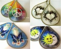 100 pairs THREAD EARRINGS, ASSORTED DESIGNS, HANDMADE IN PERU, Wholesale Lot