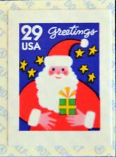 1994 29c Christmas Greetings, Santa Claus & Stars, SA Scott 2873b Mint F/VF NH