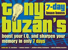 Tony Buzan's 7-day Brain Boost Pack, Tony Buzan, New Book