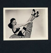 Pin-Up Girl In Sexy Undies/Pinup Girl in Lingerie * Vintage 50s US photo