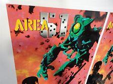 Area 51 Maximum Force Arcade Game Side art decal set