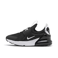 Little Kids' Nike Air Max 270 Extreme Casual Shoes Black/White CI1107 001
