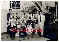 Original 1958 JAPANESE Pic #101 - Christmas in HIROSAKI JAPAN - Newly Baptized