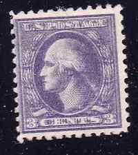 US 530a type IV 3c purple striking double impression error mint hinged OG rare