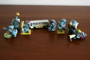 Kinder Surprise Set The Funny Fanten Clubbing Holiday 1995 not complete + bus