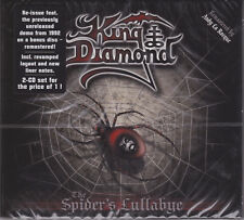 KING DIAMOND 1995 2CD - The Spider's Lullabye (2015 Remaster) Mercyful Fate NEW