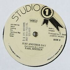 """Earl Sixteen """"Just Another Day"""" Reggae 12"""" Blank mp3"""
