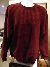 Tundra Coogie/Cosby Men's Burgundy Sweater XL