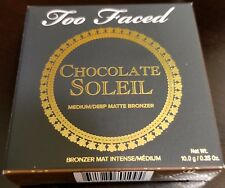 Too Faced Chocolate Soleil Bronzer *NIB* FREE SHIPPING -Authentic-