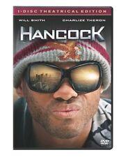 Hancock  DVD Will Smith, Charlize Theron, Jason Bateman, Jae Head, Eddie Marsan