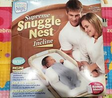 Baby Delight Supreme Snuggle Nest with Incline