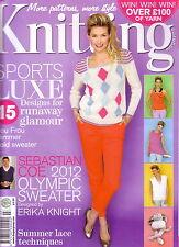 Knitting July 2012 magazine issue 104