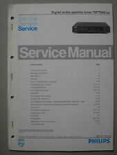 Philips 70 FT990 /00R Digital audio Satellite tuner Service Manual