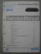 Philips 70 FT990 /00R Digital audio Satellite tuner Service Manual