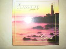 SOLITUDE - IN CLASSICAL MOOD CD & BOOK VGC BEETHOVEN - MOZART - VIVALDI