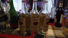 empty Tito's vodka bottles, lot of 6 , NO CAPS,. 1L