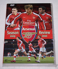 Arsenal 2009 / 2010 Football Soccer Season Review DVD New