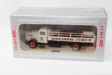 Retro Vitesse 215 Saurer S4C 1952 Truck Lowenbrau Zurich Diecast Collectable Car