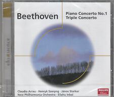 BEETHOVEN PIANO CONCERTO N 1 TRIPLO CONCERTO CD