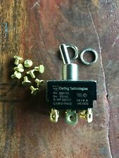 TOGGLE SWITCH TPST- ON -ON Maintained  CARLING Technologies