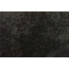 BLACK ALOVA SUEDE CLOTH VELVET FABRIC
