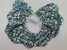 Cat & Jack Girls Aqua Sequin Collar/Capelet Dress Up Xs-M Nwt Retail $24.99