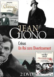 Jean Giono - CRÉSUS - UN ROI SANS DIVERTISSEMENT - COFFRET 2 DVD