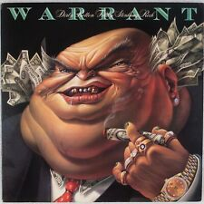 WARRANT: Dirty Rotten Filthy Stinking Rich US Columbia '89 Promo LP NM Vinyl