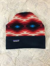 Patagonia Western Print Fleece Beanie Hat Unisex S