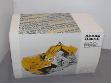 Vintage NZG Demag H 485 S Shovel WHITE Die-cast 1/50 MIB Large! komatsu