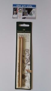 Faber Castell Eraser Pencil - Twin Pack - FAST Postage