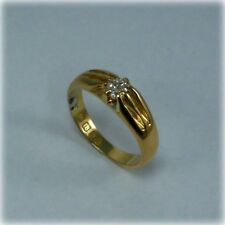 Antique 18ct Gold Old-cut Diamond Ring, hallmarked 1913