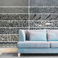 WIDE 4m, Cheap Grey Carpets, Loop, Shaggy, Twist & Saxony Pile Carpets Feltback