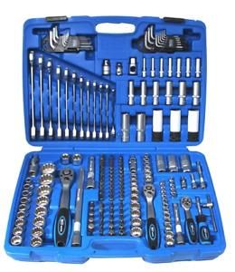 Steckschlüsselsatz,176-teilig, SW-Stahl 07635L Werkzeugkasten, Nusskasten
