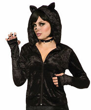Black Cat - Adult Costume Hoodie