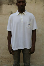 CONTE of Florence Navy Team 1992 Polo Top Cotone ITALIA Cream XL Extra Large