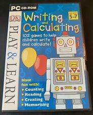 DK Play & Learn Writing & Calculating for Ages 5-7 - PC-CD-Free UK P & P