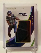💥DK METCALF RC💥 2019 IMMACULATE COLLECTION GLOVES SSP #3/5 !🔥RARE SEAHAWKS