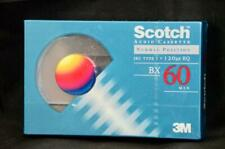 NEW Scotch Audio Cassette Tape 60 Minutes IEC Type I 3M