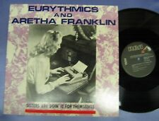 "EURYTHMICS & ARETHA FRANKLIN ""Sisters Are Doin' It For Themselves"" x2 +1 US 12"""