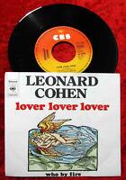Single Leonard Cohen: Lover Lover Lover (CBS C 852699) D 1974