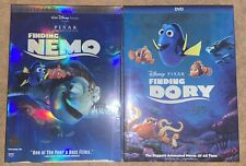 Finding Nemo and Finding Dory Dvd Set Includes Both 1&2 Movies Free Usa Shipping