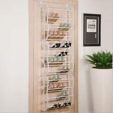 New Hanging Shoe Rack Over the door 36 Pair Closet Space Saver Organizer Storage