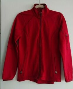 Icebreaker Red Realfleece Merino Wool Jacket (M)