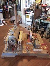 Vintage Steam Engine Toy  --  Wilesco  D20