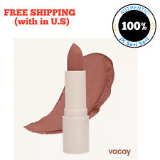 Sunnies Face Fluffmatte Lipstick in VACAY/ Signature Cream Packaging Makeup