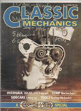 CLASSIC MECHANICS #1 AUTUMN 1983 - 1ST EDITION