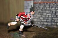 W. Britain Napoleonic 36002 British Coldstream Guards Light Co. Charging