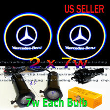 Mercedes Benz 2x7w Ghost Shadow Laser Projector Logo Led Light Courtesy Step (Fits: Mercedes-Benz)