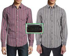 NWT Boss Hugo Boss (Hugo Boss Green Label) Checkered Casual Sport Shirt